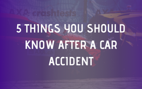 5 things you should know after a car accident