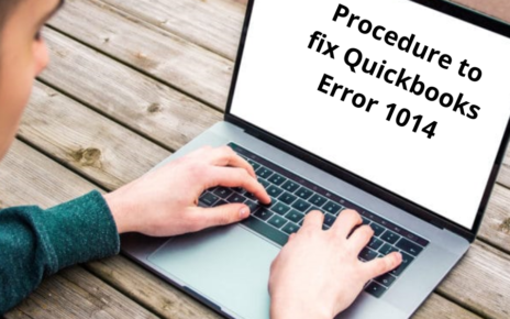 Quickbooks error 1014