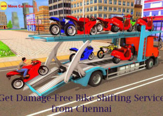 Bike Shifting Service from Chennai
