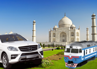 same day agra tour by car vs train
