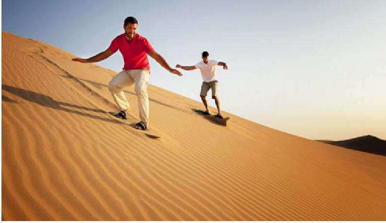 best desert safari Abu Dhabi