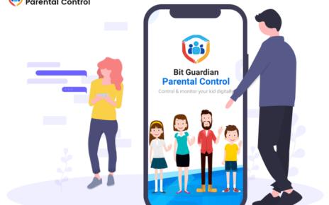 Lock your kid's phone with Bit Guardian Parental Control