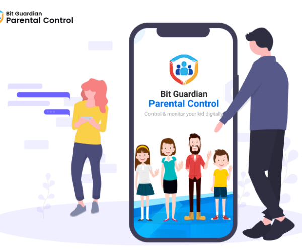 Lock your kid's phone with Bit Guardian Parental Control