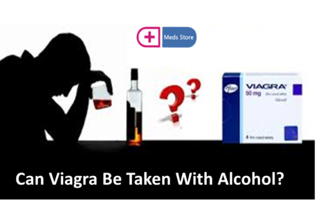 alcohol with viagra