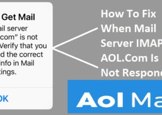 the Mail Server IMAP AOL.Com Is Not Responding