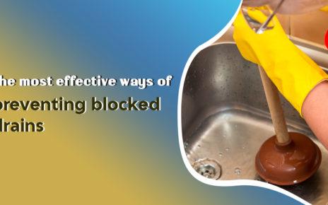 preventing blocked drains