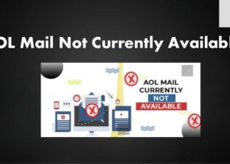 aol mail not currently available