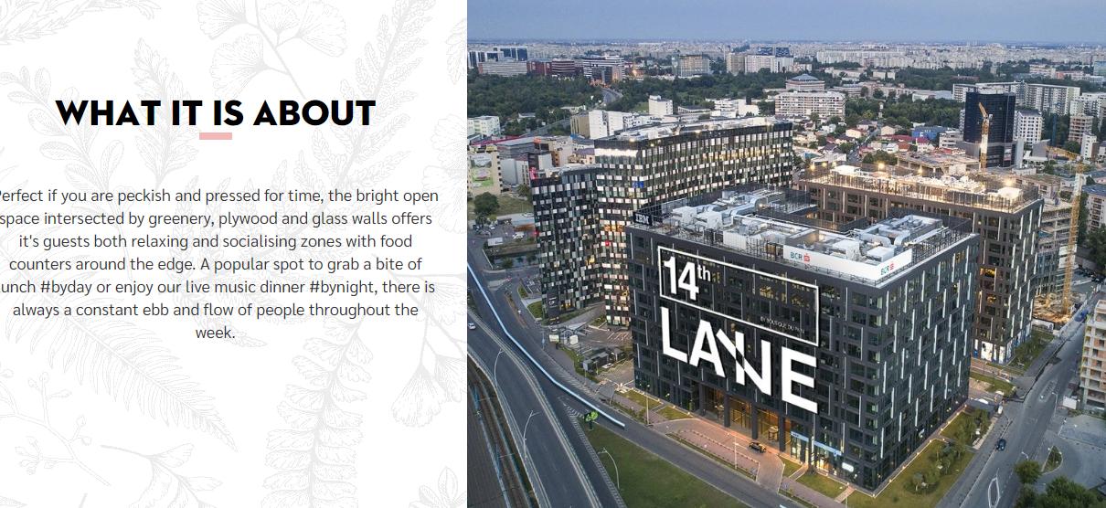 14th Lane Restaurant Bucharest