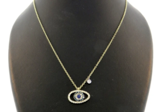 Meira T evil eye necklaces