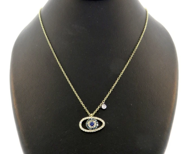 Meira T evil eye necklaces