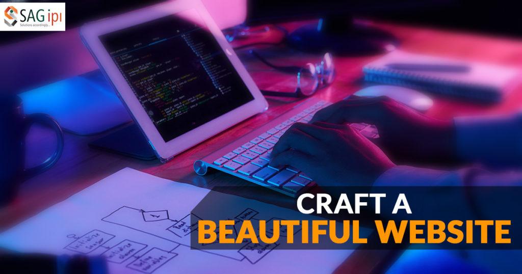 Craft A beautiful Website Develop