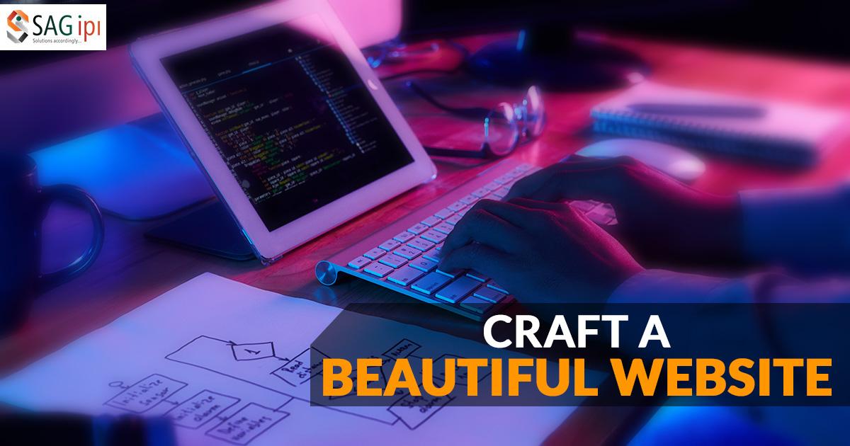 Develop a Beautiful website