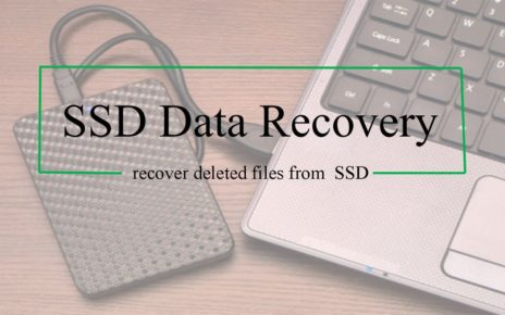 recover SSD data
