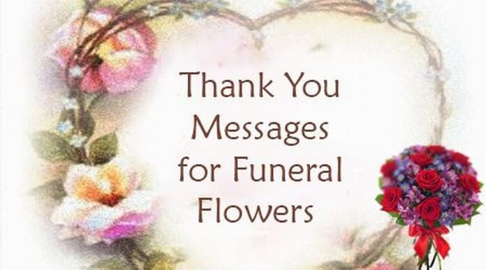 Funeral Thank You massages