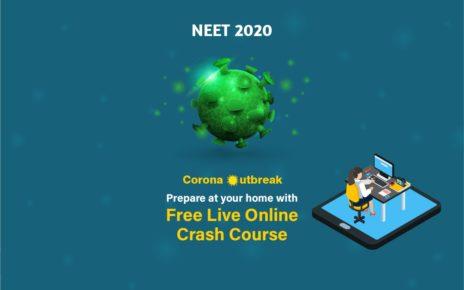 online crash course for NEET 2020