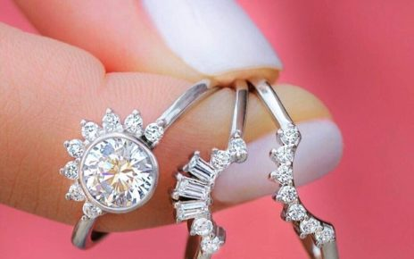 Tiara Engagement Rings for Couples
