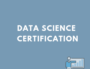 big data career, data science certificate