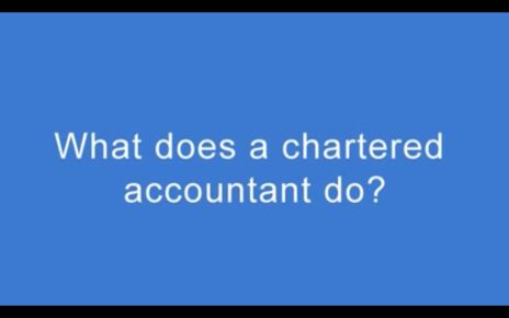 What Does a Chartered Accountant Do