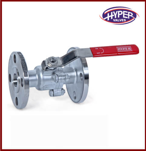 Cast Steel Ball Valve (2 PC.DESIGN)