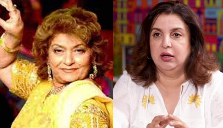 Saroj Khan Was Targeted By Farah Khan